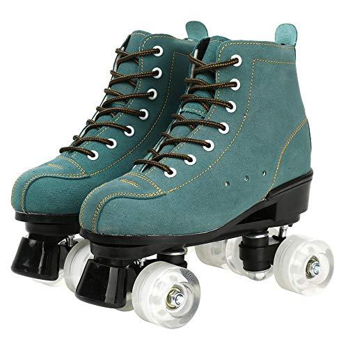XUDREZ Cowhide Outdoor Roller Skates