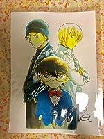 しました。名探偵コナン 複製原画 青山先生サイン入り名探偵コナソ 青山先生 不朽 名作
