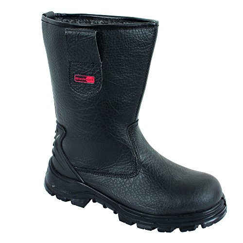Blackrock SF01B Fur Lined Safety Rigger Boot (Black) S1-P SRC,11 UK (46 EU)