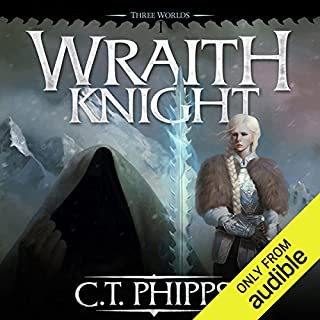 Wraith Knight     Three Worlds, Book 1              By:                                                                                                                                 C. T. Phipps                               Narrated by:                                                                                                                                 Kevin T. Collins                      Length: 12 hrs and 1 min     104 ratings     Overall 4.1