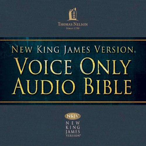 (22) Hosea-Joel-Amos-Obadiah-Jonah-Micah, NKJV Voice Only Audio Bible cover art