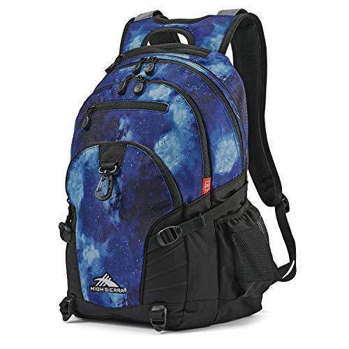 High Sierra Loop Backpack, Space, 19 x 13.5 x 8.5-Inch