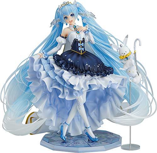 キャラクター・ボーカル・シリーズ01 初音ミク 雪ミク Snow Princess Ver. 1/7…の画像
