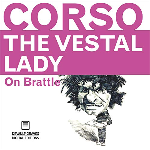 The Vestal Lady on Brattle: Annotated audiobook cover art
