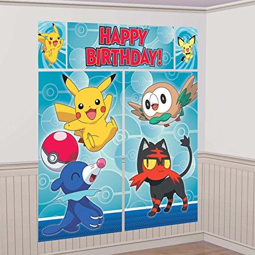 amscan 670663 Scene Setter Pokemon C
