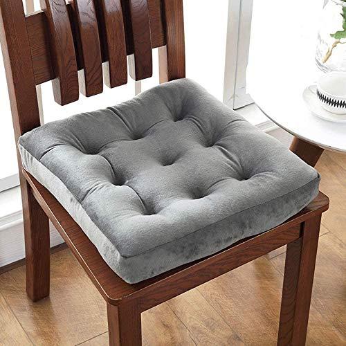QHQH Cojín para silla, exterior, cojín para silla, para interior y exterior, cojín de tatami (40