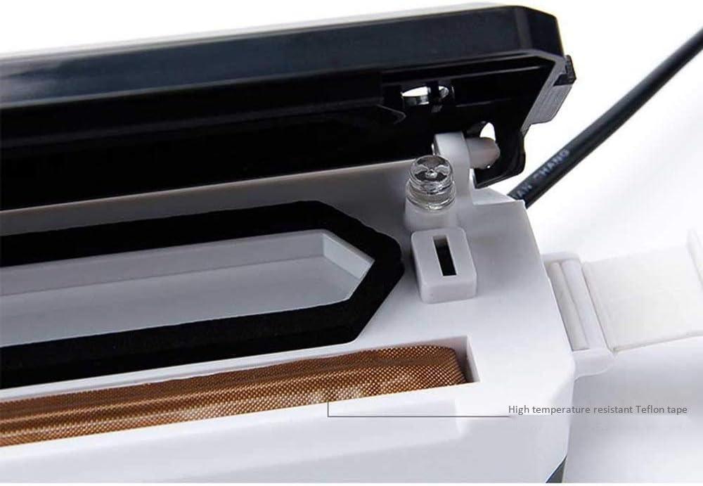 Passez l'aspirateur sur les compacteurs Maison et Cuisine Mini Sac Scellant, poche portable de chaleur Machine, Petit Ménage commercial vide GDSZMMLS (Color : Blue) Blue