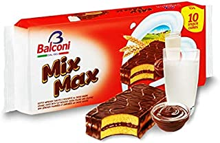 Mix Max, Sponge Cake with Cocoa Filling and Coating, 10pk 350g