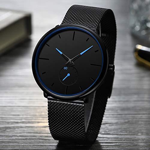 Voigoo Mode Herrenuhr Ultra dünne Quarz-Uhr-Männer 2020 Neue beiläufige Siebband wasserdichte stilvolle Uhren Relogio Masculino