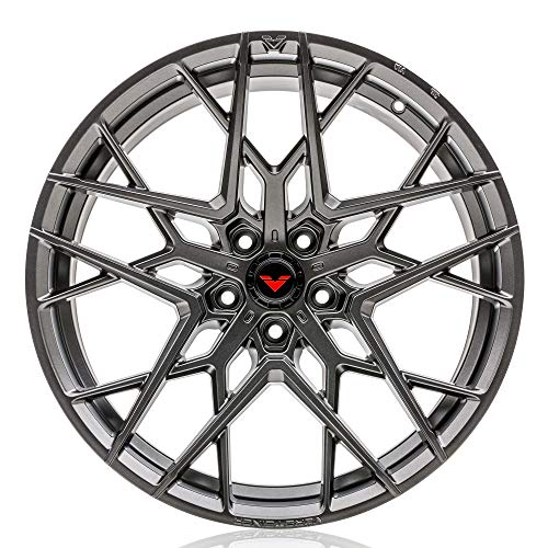 Vorsteiner V-FF 111 Flow Forged Front Wheel Compatible with 19+ BMW G20 3-Series 5x112 Bolt Pattern, 18x8.5 (+20mm Offset), Carbon Graphite - 1 PC