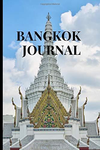 Bangkok Journal: Bangkok Theme Novelty Gift ~ Small Lined Travel Notebook (6' x 9')