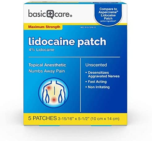 Top 10 Best pain patches with lidocaine 5 Reviews
