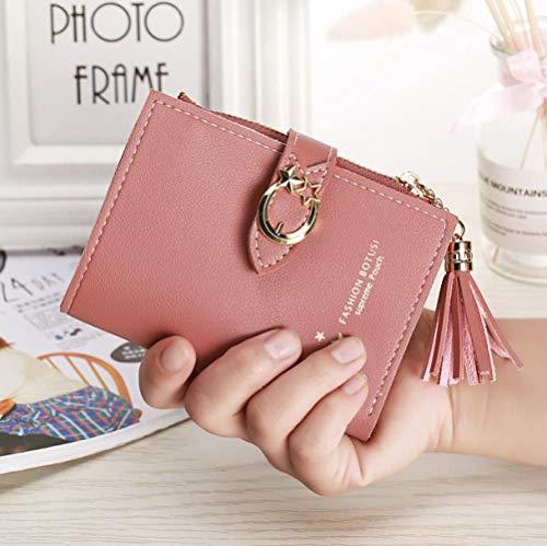 Lady portemonnee met ID-kaarten, kort, dames, handtas, etui, portefeuille