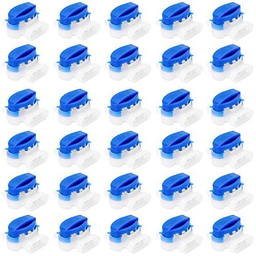 Akunsz 30 Pezzi Connettore Gel per Cavo Riempito di Gel di Resina Connettore Impermeabile Morsetti per Cavi Morsetti Impermeabili per Husqvarna Automower il Robot di Falciatura