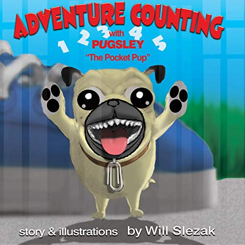 "Adventure Counting with Pugsley ""the Pocket Pup"" cover art"