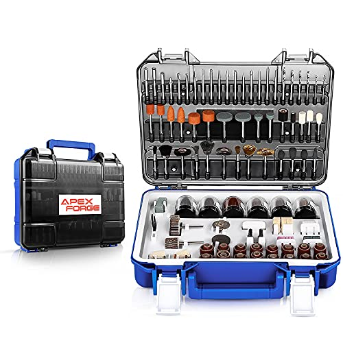 Rotary Tool Accessories Kit, APEXFORGE 357 Pieces 1/8