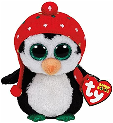 TY Beanie Boo Plush - Freeze the Penguin 6 by Ty Beanie