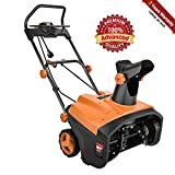 TACKLIFE Snow Blower, 15Amp Electric Snow Blower, 20 INCH Width Steal Auger, 30ft Throwing Distance, Overload Protection, Anti-Freezing Handle, for Snow Cleaning, GST01