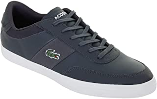 Lacoste Men's Court-Master 319 1 CMA Leather Trainers, Grey