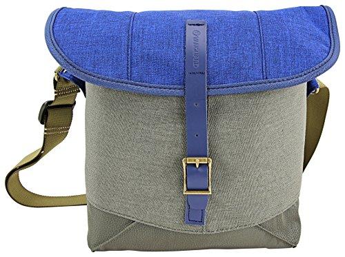 Vanguard Veo Travel 21BL - Bolsa de Hombro para Evil/CSC (21x11x20cm) Color Azul