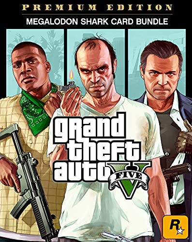 "Grand Theft Auto V Premium Edition & CashCard ""Megalodon"" im Bundle   PC Code"