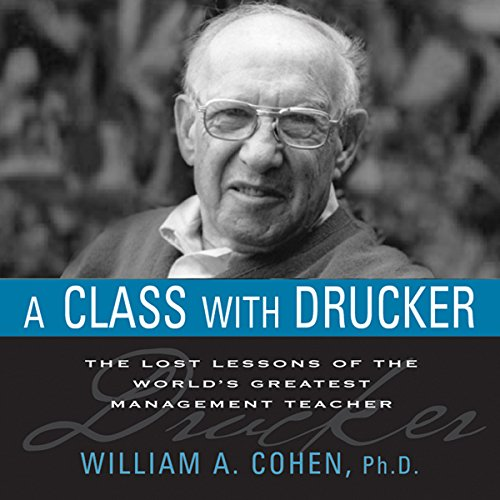 A Class with Drucker audiobook cover art