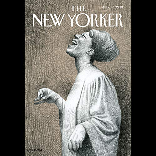 Couverture de The New Yorker, August 27th 2018 (Calvin Tompkins, Elizabeth Kolbert, Joan Acocella)