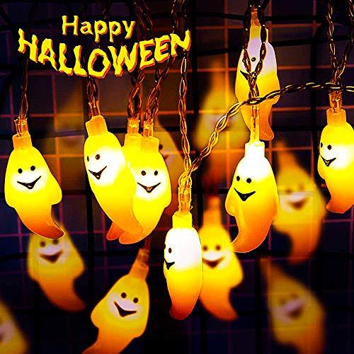 Decoración de Halloween BESTZY Decoracion Jardin Exterior(Fantasma 3 Metros)