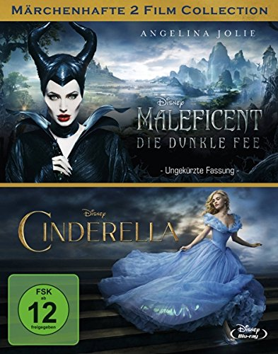 Maleficent - Die dunkle Fee / Cinderella [Blu-ray]