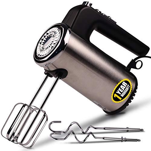 iBELL HM620L 300-Watt Hand Mixer Beater Blender Electric Cream...