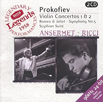 Prokofiev: Violin Concertos Nos.1 & 2; Symphony No.5; Romeo & Juliet etc.