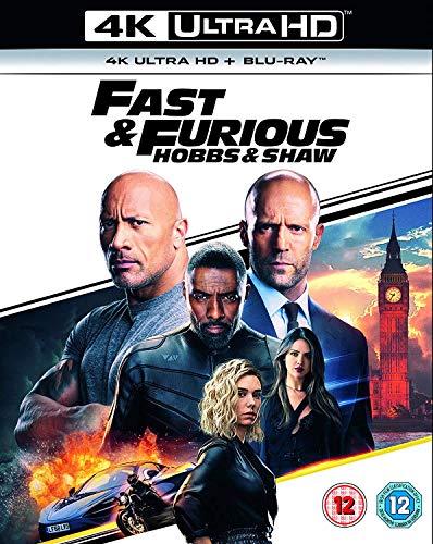 Blu-ray2 - Fast & Furious Presents: Hobbs & Shaw (2 BLU-RAY)
