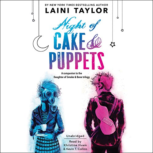 Night of Cake & Puppets audiobook cover art
