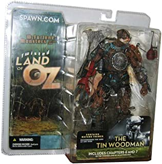 Spawn McFarlane Monsters Twisted Land of Oz Tin Woodman Wood Man Includes Chapter 6 & 7 Of Twisted Land of Oz Mythology