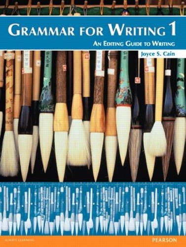 Grammar for Writing 1