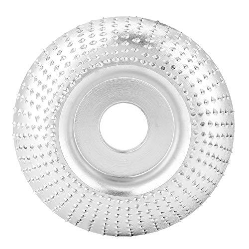 Disco de Lijado de Madera de 75 MM Amoladora Angular Rueda de Molienda Disco de Tallado de Madera Redonda Disco de Corte Para Amoladora Angular Herramienta de Fijación de Amoladora Angular