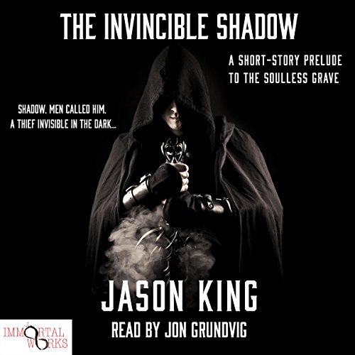 The Invincible Shadow audiobook cover art