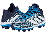 adidas Freak Mid 20 Football Shoe, Navy Blue/White/Navy Blue, 10 US Unisex Little Kid