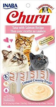 INABA Friandise Liquide pour Chat Saveur Thon/Saumon 50 g