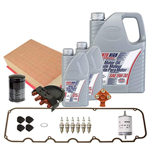 OEM Tune Up and Filters Kit with Oil For BMW E30 325i 325is 325iX