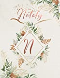 Nataly 2021 2022 Planner: Personalized Name Two Year Planner 2021 - 2022 with Initial Monogram Letter. Perfect Gifts for Girls and Women as Her 24 ... Plan Days, Set Goals & Get Stuff Done.
