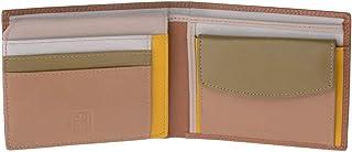 Portafoglio multicolore in pelle classico da uomo firmato DUDU Safari