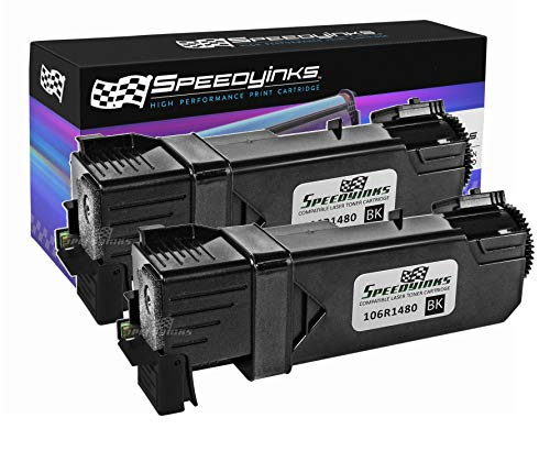 Speedy Inks Compatible Toner Cartridge Replacement for Dell 2150 |MY5TJ (331-0719) High-Yield (Black, 2-Pack)