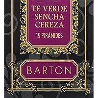 Barton Té Verde Sencha Cereza, Pirámides - 15 pirámides