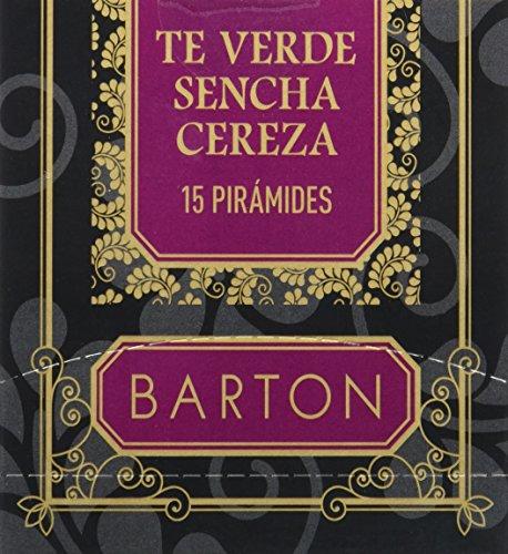 Barton Te Verde Sencha Cereza, Piramides - 15 piramides