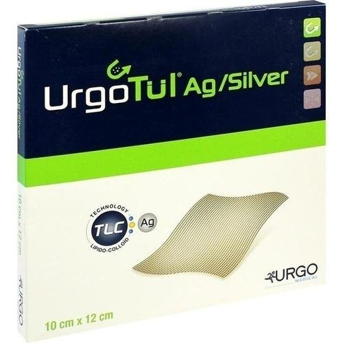URGOTÜL Silver 10x12 cm Wundgaze 10 St Wundgaze