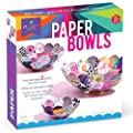 Craft-tastic – Paper Bowl Kit – Craft Kit Makes 3 Different-Sized Decorative Bowls