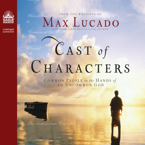 Cast of Characters audiobook cover art