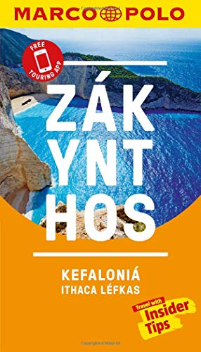 Zakynthos and Kefalonia Marco Polo Pocket Travel Guide - With Pull Out Map