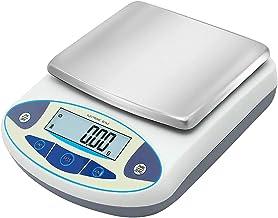 Escala Lab 0.01g Balança Analítica Eletrônica,Laboratório Balança Digital,Aço Inoxidável Platter,Jóias Cozinha Scientific ...